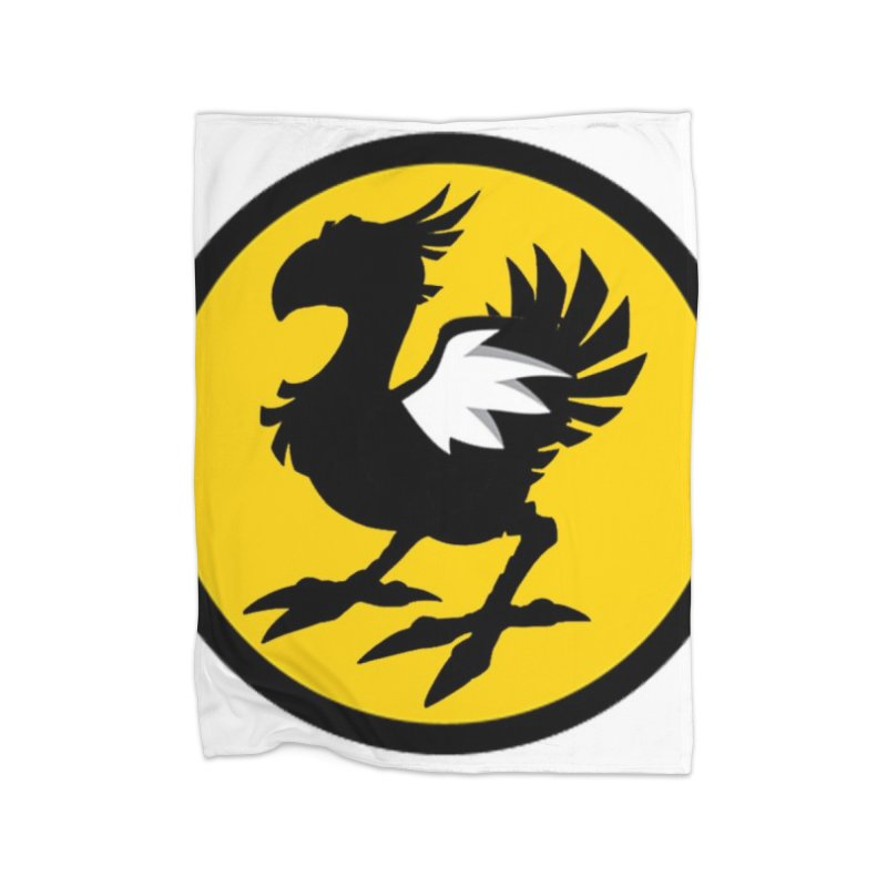 Chocobo Wild Wings Home Blanket by Spinosaurus's Artist Shop