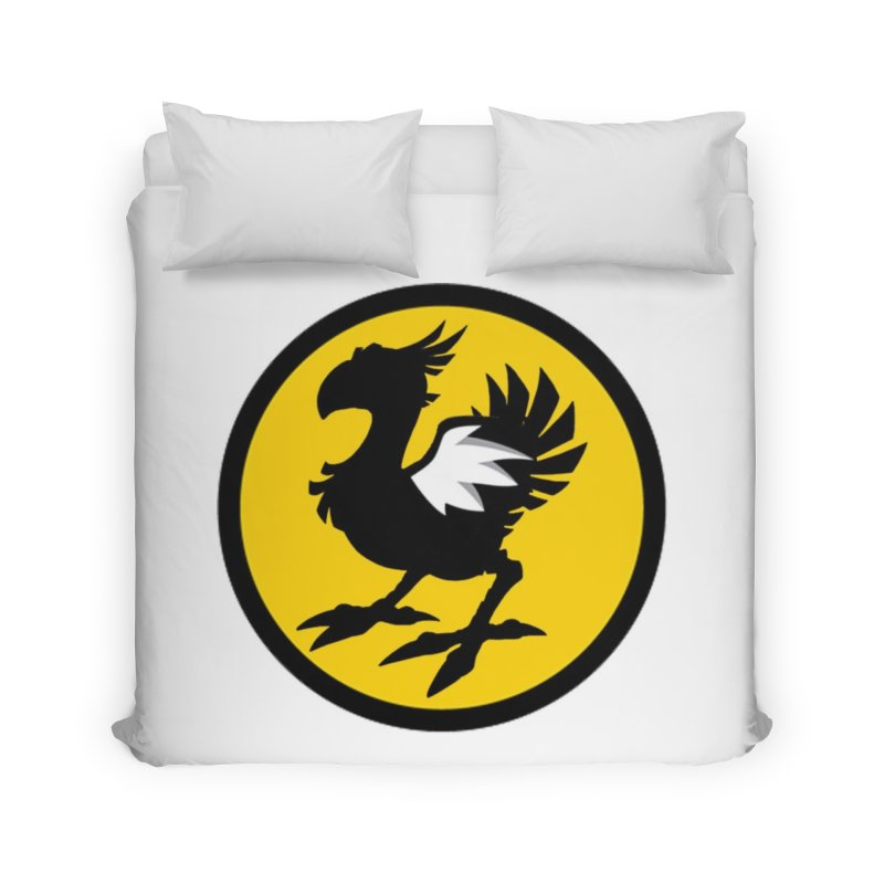 Chocobo Wild Wings Home Duvet by Spinosaurus's Artist Shop