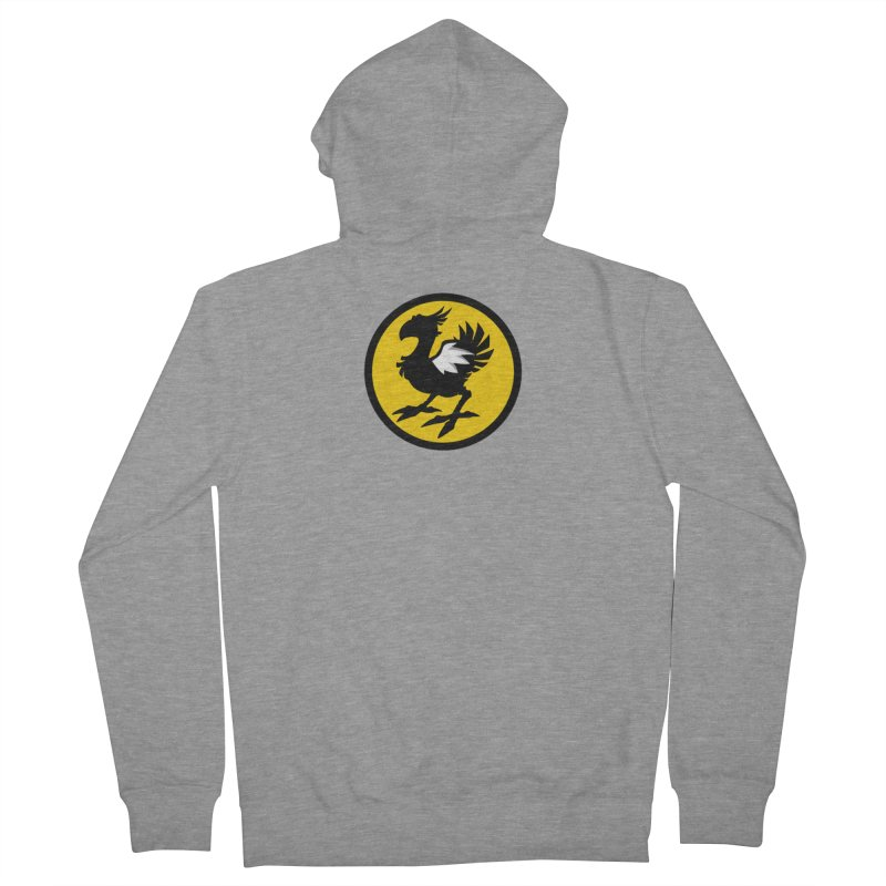 Chocobo Wild Wings Women's French Terry Zip-Up Hoody by Spinosaurus's Artist Shop