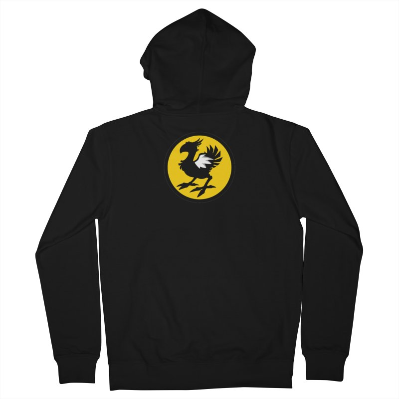 Chocobo Wild Wings Men's Zip-Up Hoody by Spinosaurus's Artist Shop