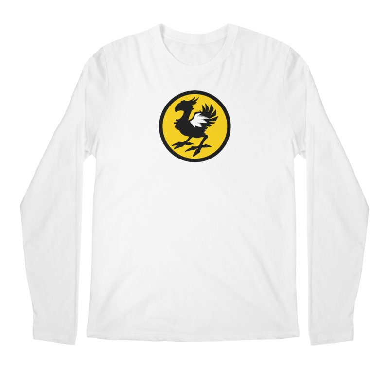 Chocobo Wild Wings Men's Longsleeve T-Shirt by Spinosaurus's Artist Shop