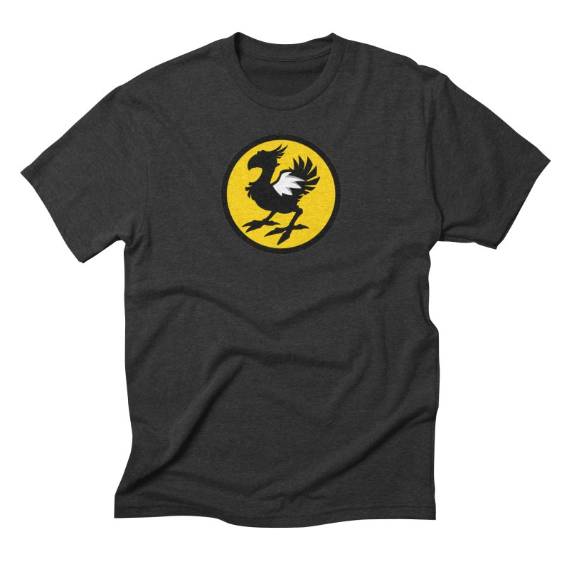Chocobo Wild Wings Men's Triblend T-shirt by Spinosaurus's Artist Shop