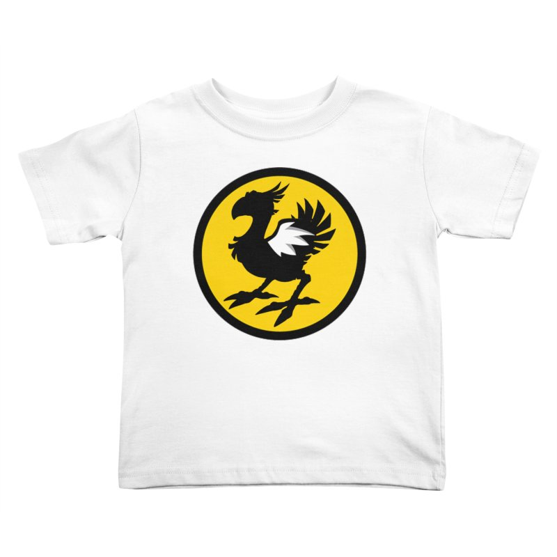 Chocobo Wild Wings Kids Toddler T-Shirt by Spinosaurus's Artist Shop