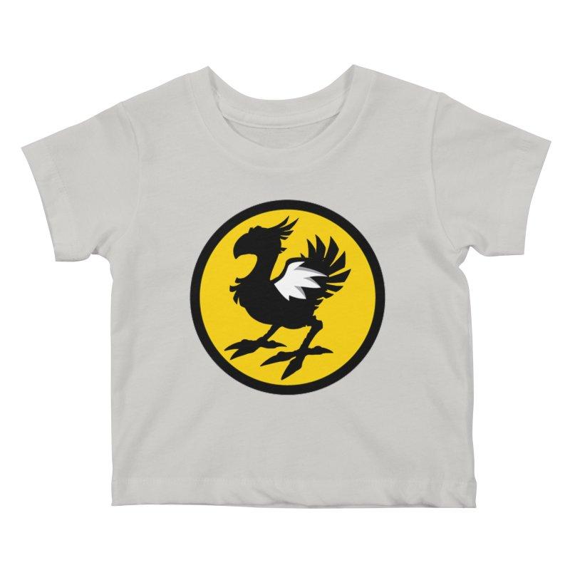 Chocobo Wild Wings Kids Baby T-Shirt by Spinosaurus's Artist Shop
