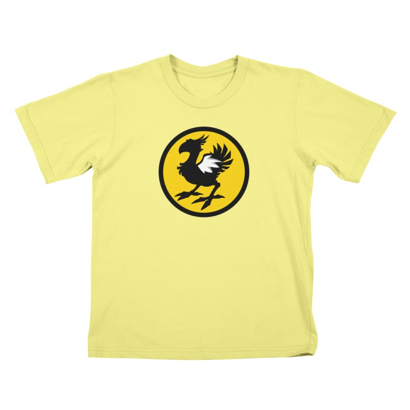 Chocobo Wild Wings Kids T-shirt by Spinosaurus's Artist Shop