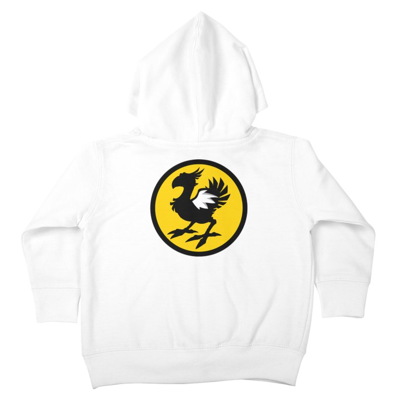 Chocobo Wild Wings Kids Toddler Zip-Up Hoody by Spinosaurus's Artist Shop