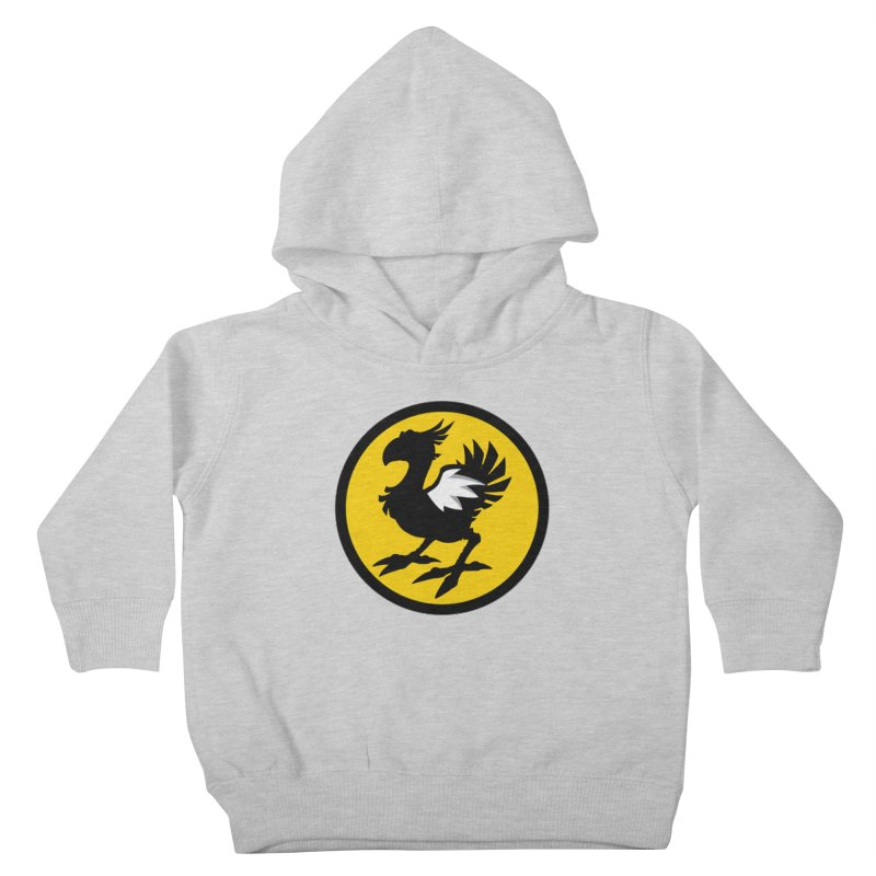 Chocobo Wild Wings Kids Toddler Pullover Hoody by Spinosaurus's Artist Shop