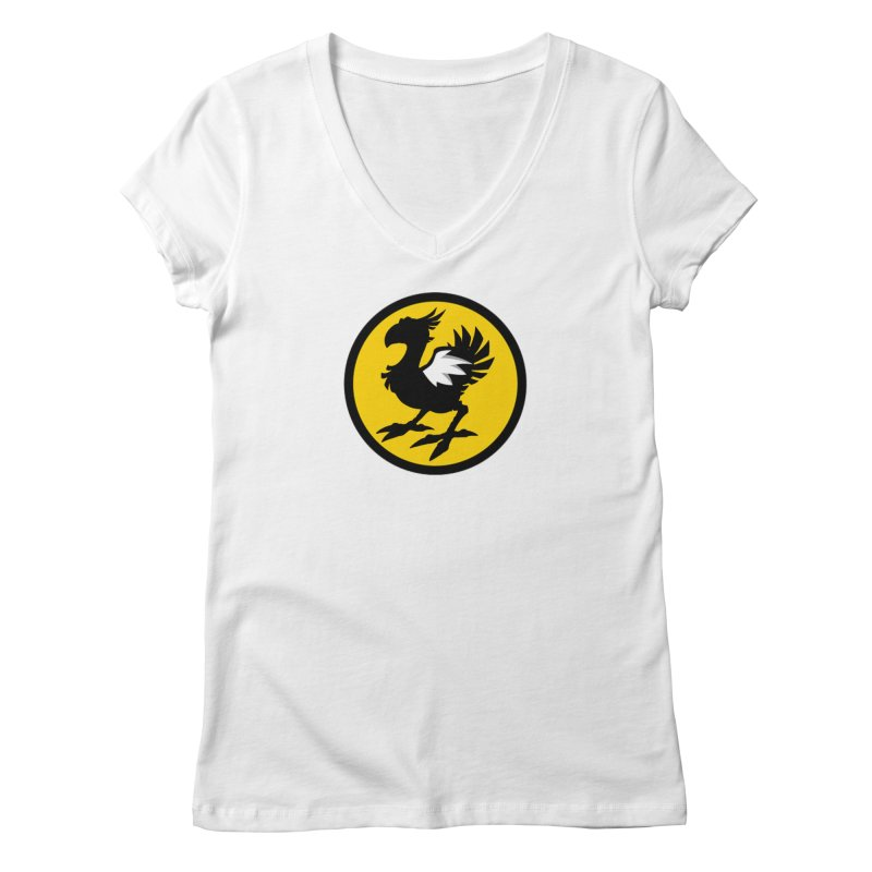 Chocobo Wild Wings Women's V-Neck by Spinosaurus's Artist Shop