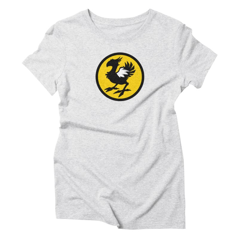 Chocobo Wild Wings Women's Triblend T-shirt by Spinosaurus's Artist Shop