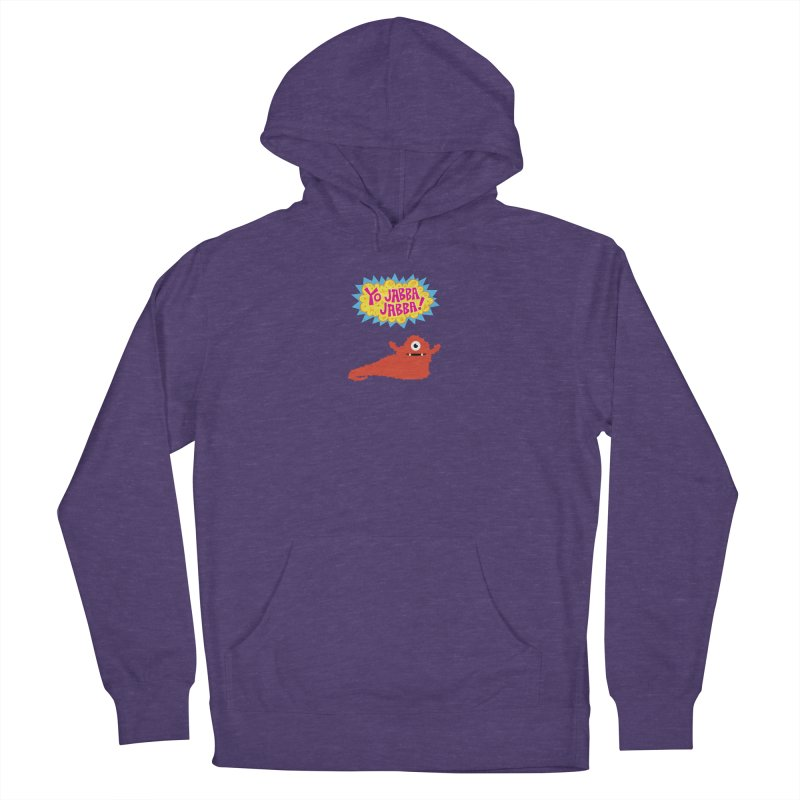 Yo Jabba Jabba! Men's French Terry Pullover Hoody by Spinosaurus's Artist Shop