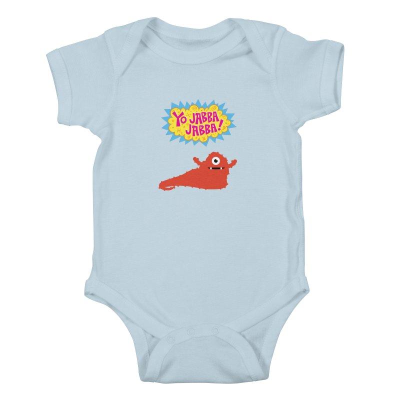 Yo Jabba Jabba! Kids Baby Bodysuit by Spinosaurus's Artist Shop