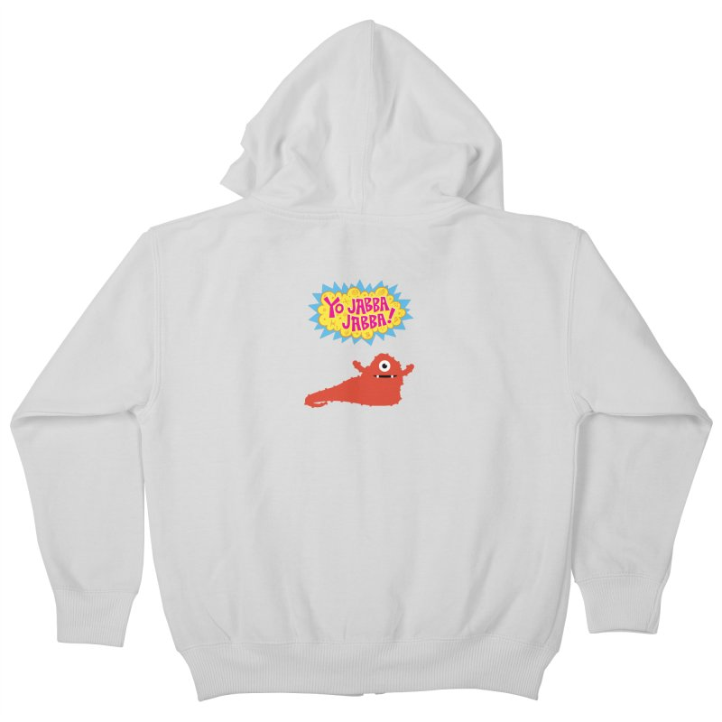Yo Jabba Jabba! Kids Zip-Up Hoody by Spinosaurus's Artist Shop
