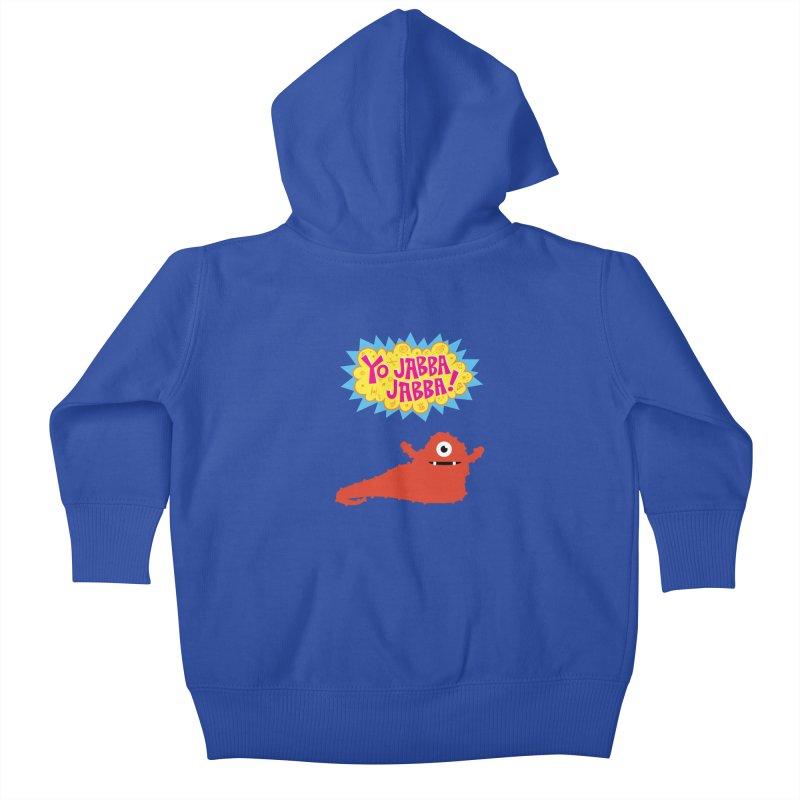 Yo Jabba Jabba! Kids Baby Zip-Up Hoody by Spinosaurus's Artist Shop