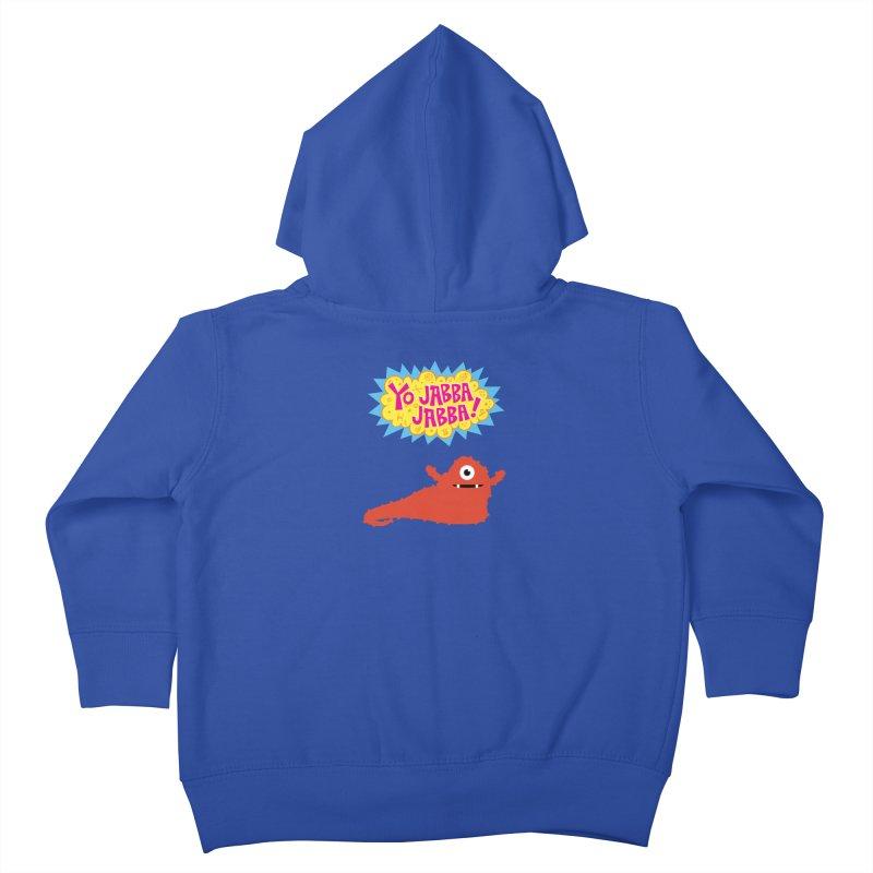 Yo Jabba Jabba! Kids Toddler Zip-Up Hoody by Spinosaurus's Artist Shop