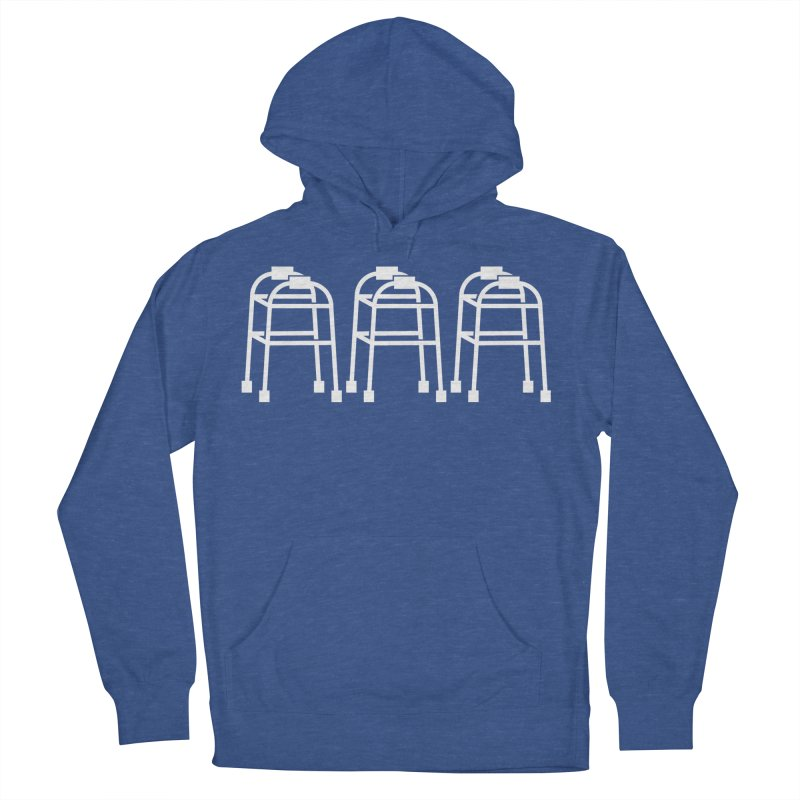 White Walkers Men's French Terry Pullover Hoody by Spinosaurus's Artist Shop