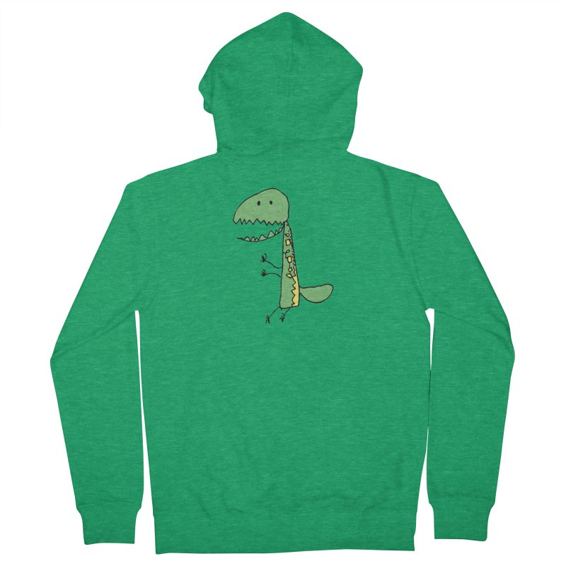 Chompasaurus Men's Zip-Up Hoody by Spinosaurus's Artist Shop