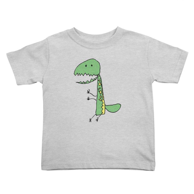 Chompasaurus Kids Toddler T-Shirt by Spinosaurus's Artist Shop