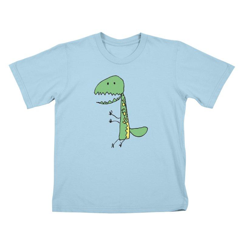 Chompasaurus Kids T-Shirt by Spinosaurus's Artist Shop