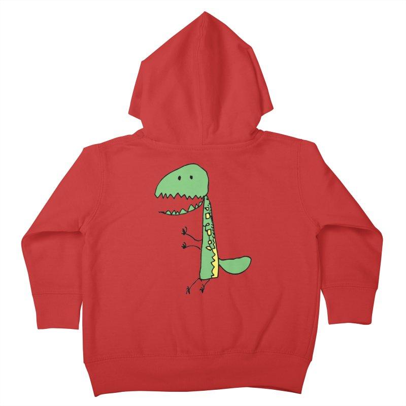 Chompasaurus Kids Toddler Zip-Up Hoody by Spinosaurus's Artist Shop