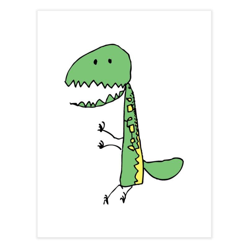 Chompasaurus Home Fine Art Print by Spinosaurus's Artist Shop