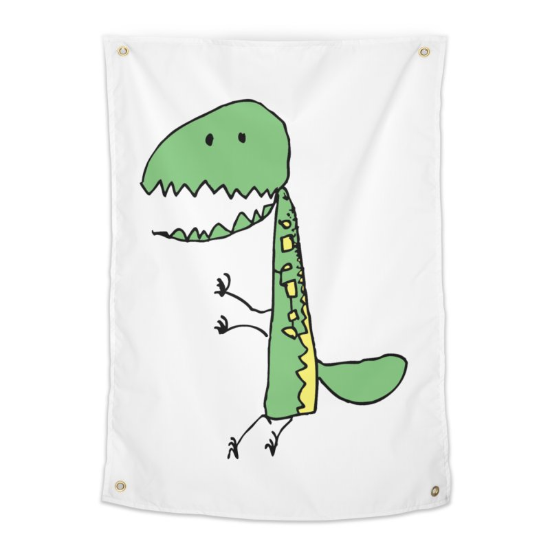 Chompasaurus Home Tapestry by Spinosaurus's Artist Shop