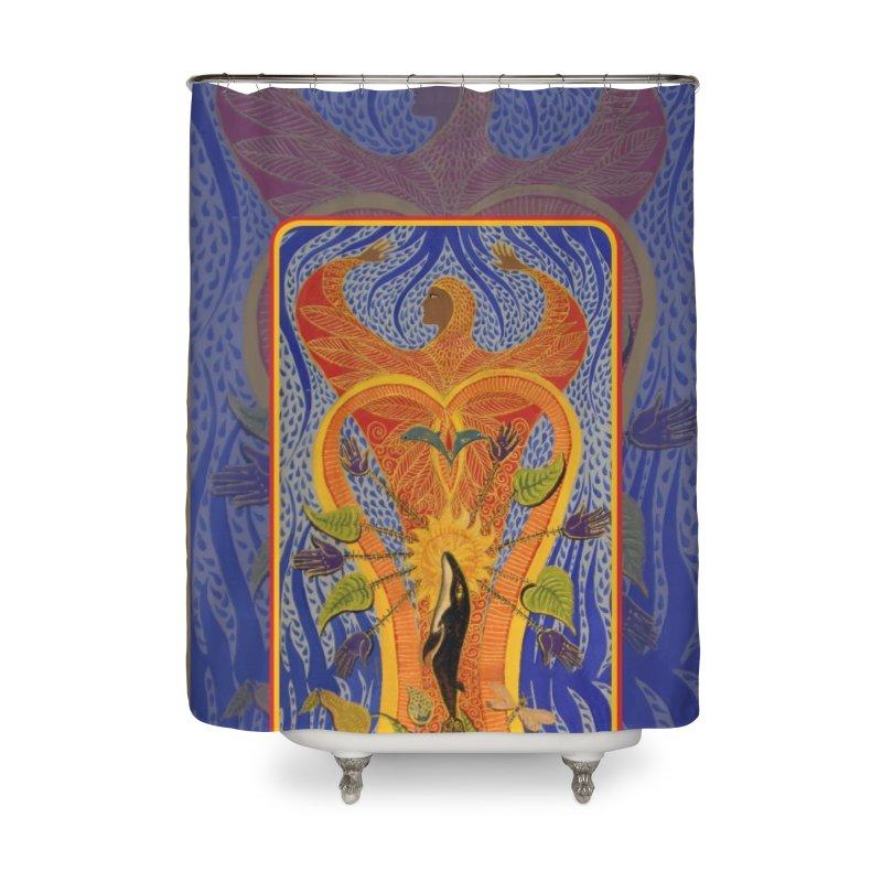 Pachamama - SB Home Shower Curtain by Spirit Works 4 U Artist Shop