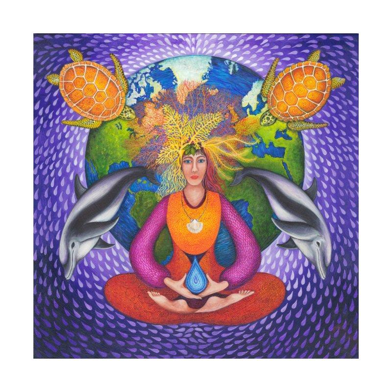 Earth Prayer: Meditation Home Throw Pillow by Spirit Works 4 U Artist Shop
