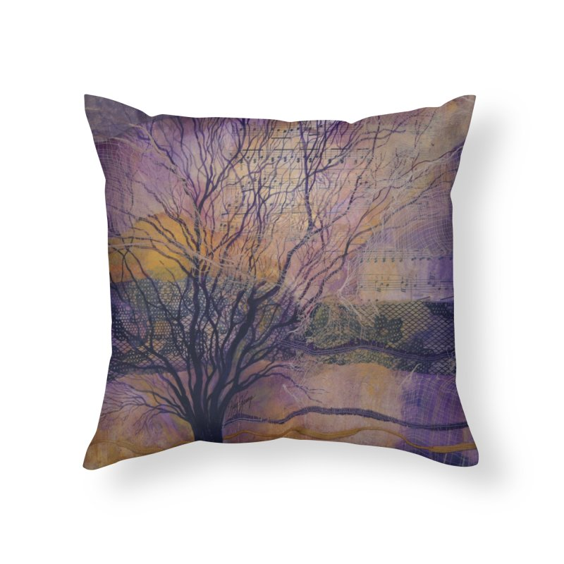 In Harmony - NEW Home Throw Pillow by Spirit Works 4 U Artist Shop