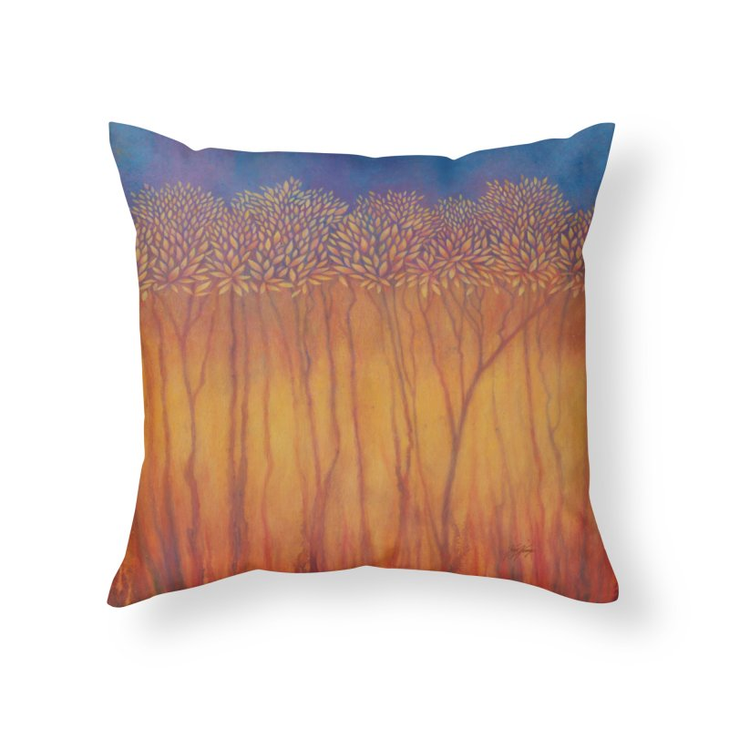 Step Into The Light - New Home Throw Pillow by Spirit Works 4 U Artist Shop
