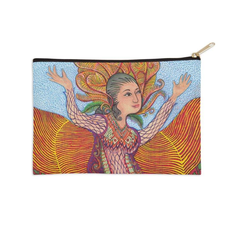 Sacred Woman - NEW Accessories Zip Pouch by Spirit Works 4 U Artist Shop