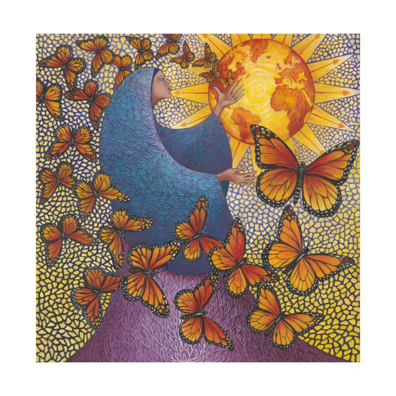 Earth Prayer: Transformation Home Throw Pillow by Spirit Works 4 U Artist Shop