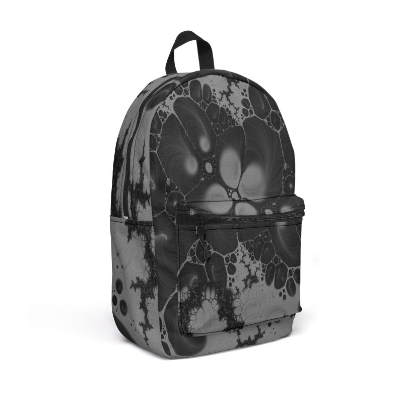 Abstraction - black/grey Accessories Backpack Bag by Splif City's Special Items