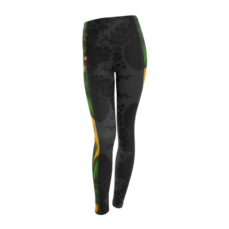 Abstraction2 leggins design in Women's Leggings Bottoms by Splif City's Special Items
