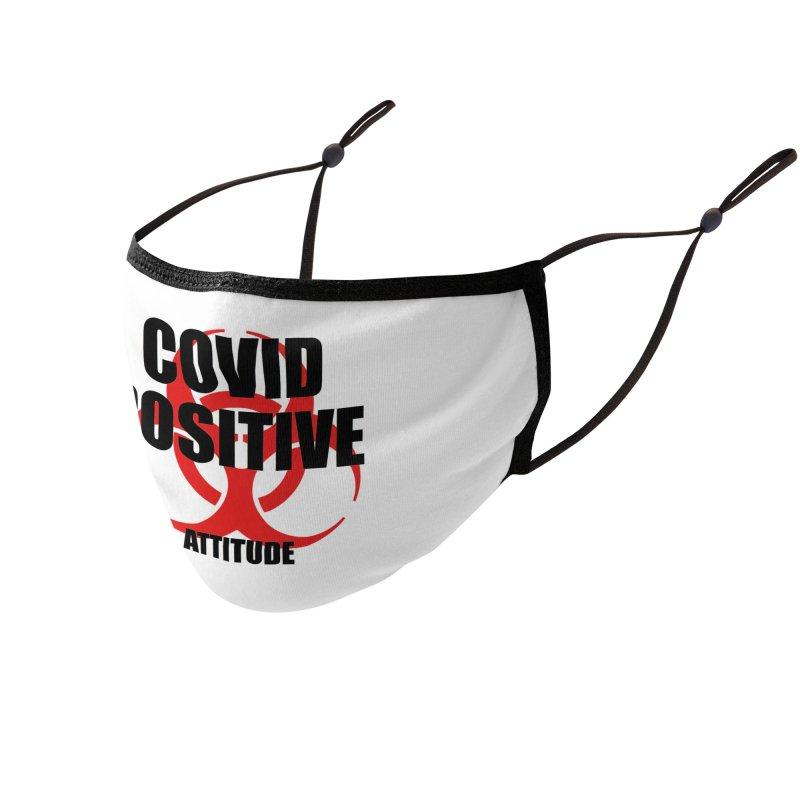COVID POSITIVE (attitude) Accessories Face Mask by Spokanarama Mart