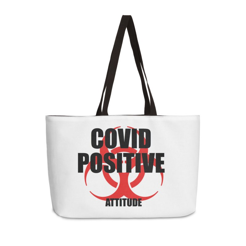 COVID POSITIVE (attitude) Accessories Bag by Spokanarama Mart