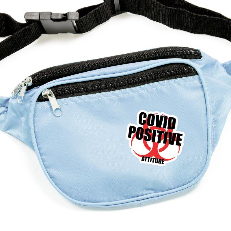 COVID POSITIVE (attitude) Accessories Sticker by Spokanarama Mart