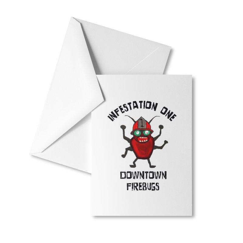 Infestation One Accessories Greeting Card by Spokanarama Mart