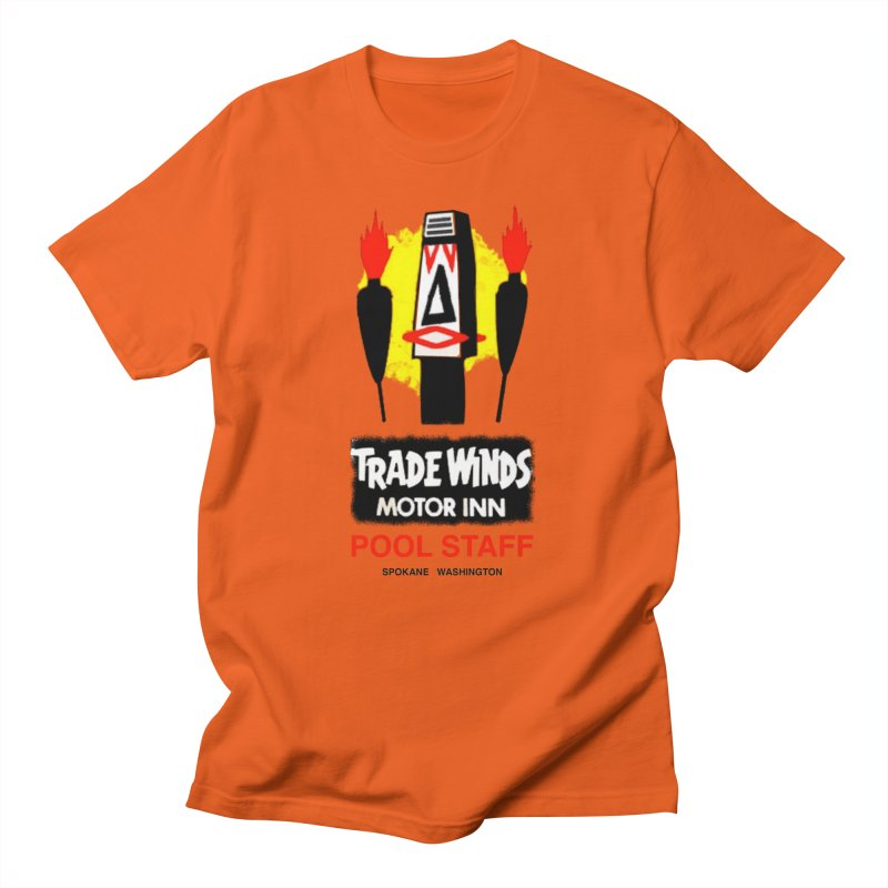 TRADE WINDS pool staff Men's T-Shirt by Spokanarama Mart