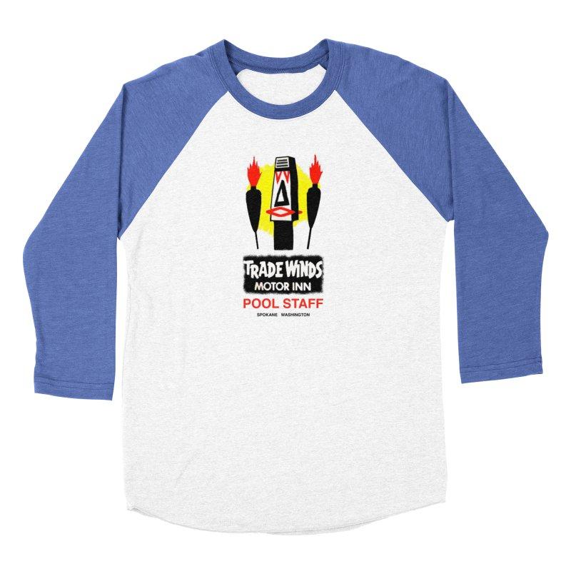 TRADE WINDS pool staff Men's Longsleeve T-Shirt by Spokanarama Mart
