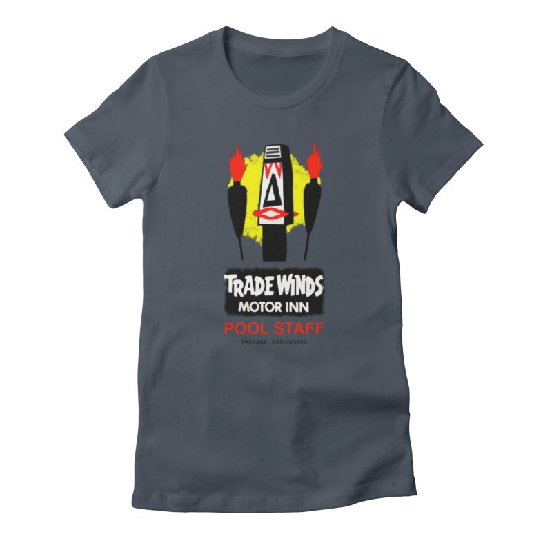 TRADE WINDS pool staff Women's T-Shirt by Spokanarama Mart