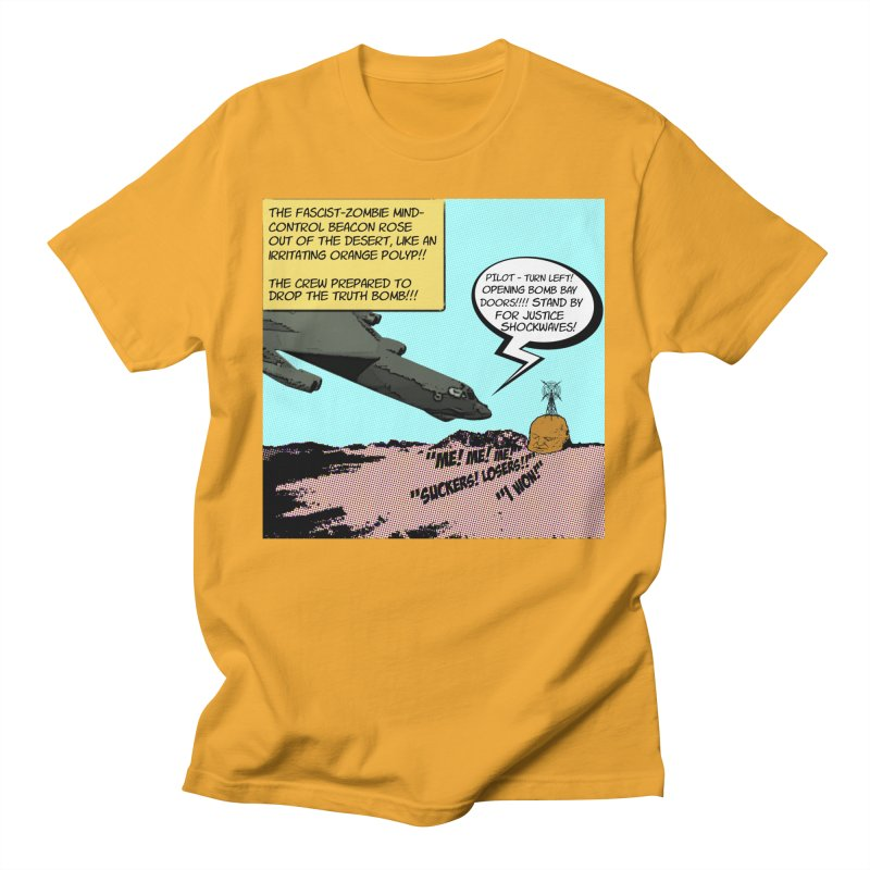 Truth Bomber Men's T-Shirt by Spokanarama Mart
