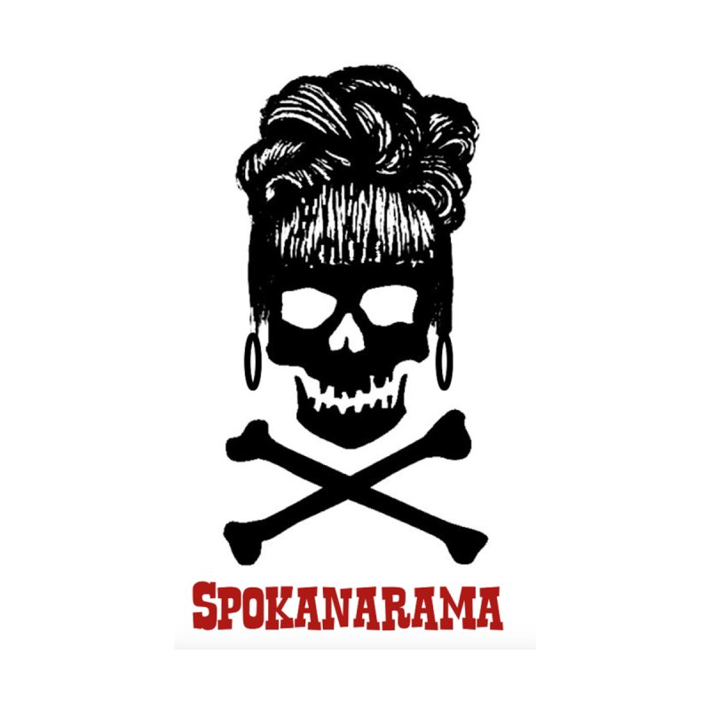 Spokanarama Logo Black Men's T-Shirt by Spokanarama Mart