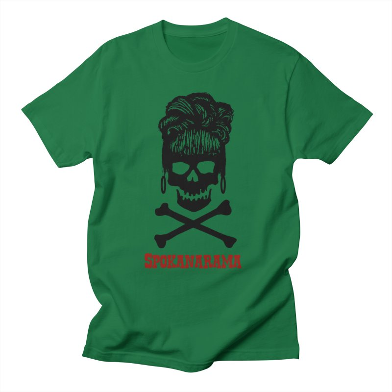 Spokanarama Logo Black Men's T-Shirt by Spokanarama Mart