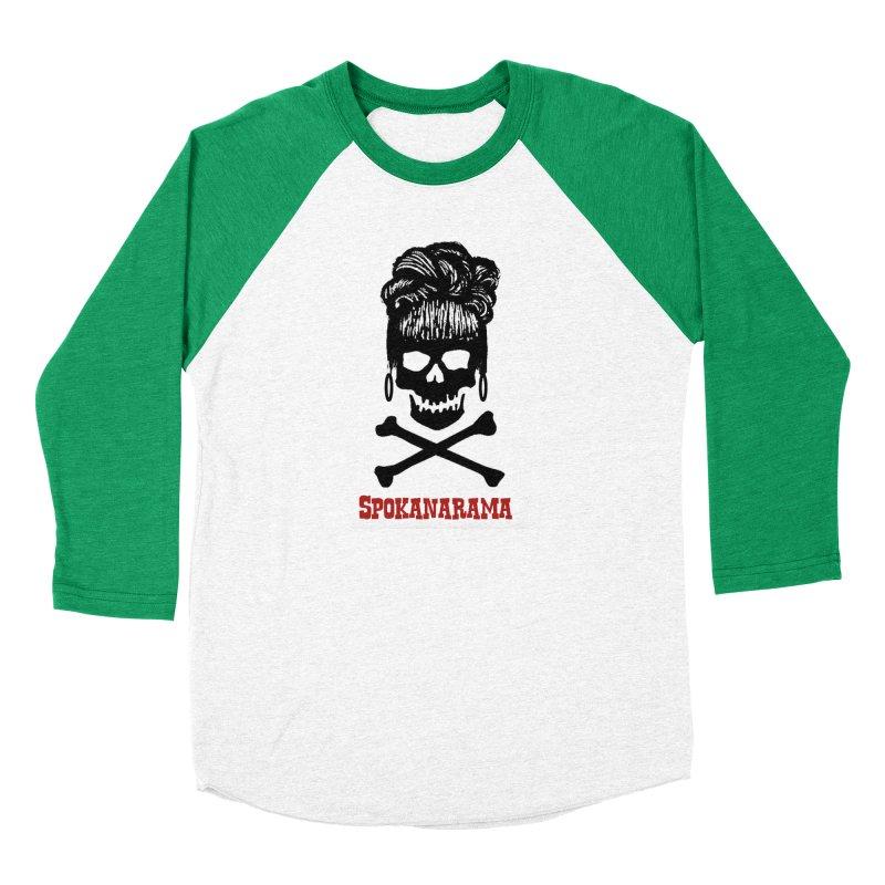 Spokanarama Logo Black Men's Longsleeve T-Shirt by Spokanarama Mart