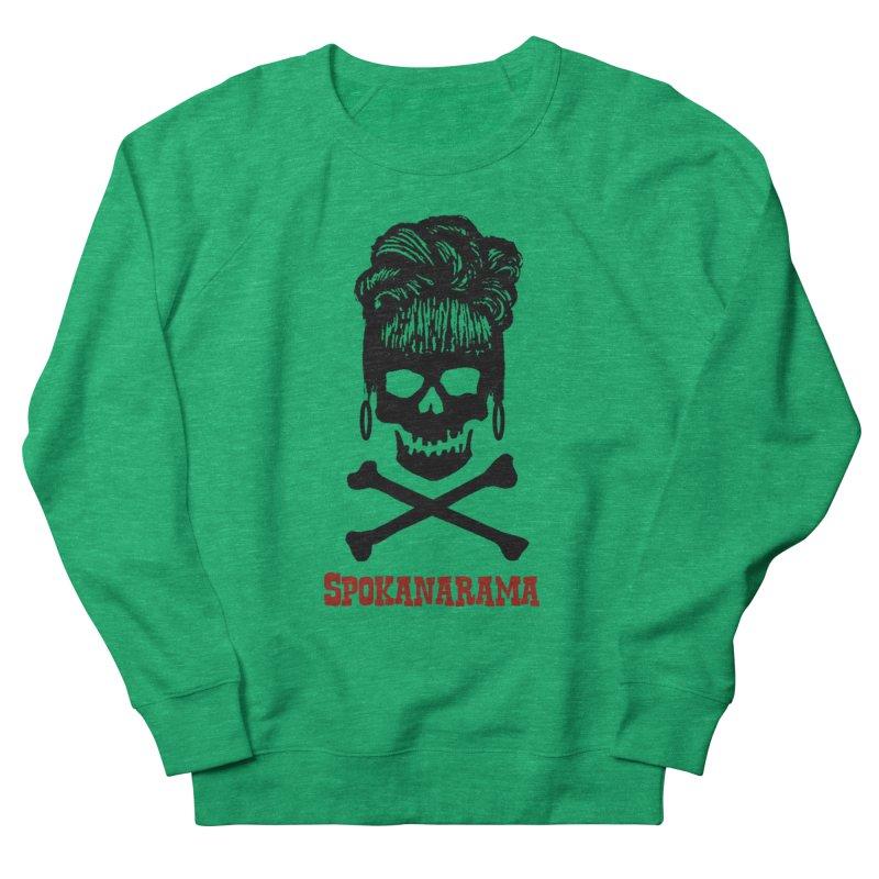Spokanarama Logo Black Women's Sweatshirt by Spokanarama Mart