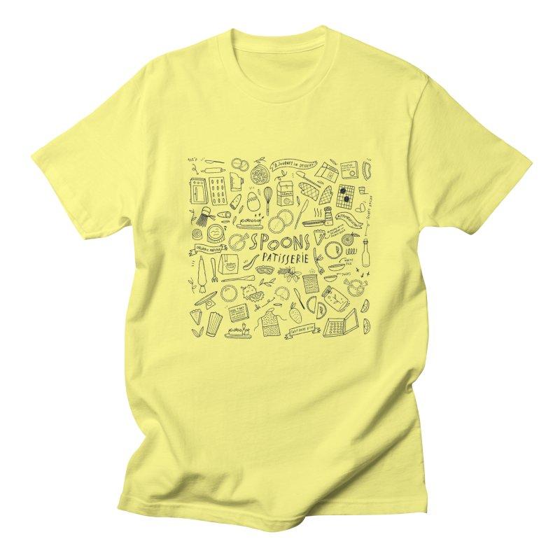 Flavored Egg Tart Men's T-Shirt by Spoonspatisserie's Artist Shop