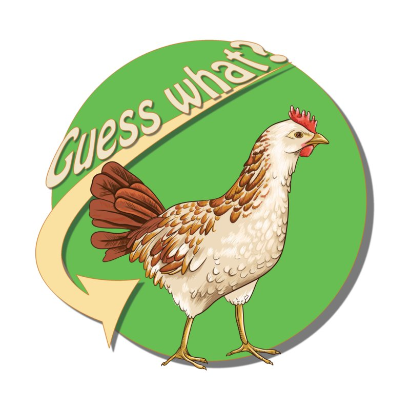 Guess What?  Chicken Butt. by Sporkshirts's tshirt gamer movie and design shop.