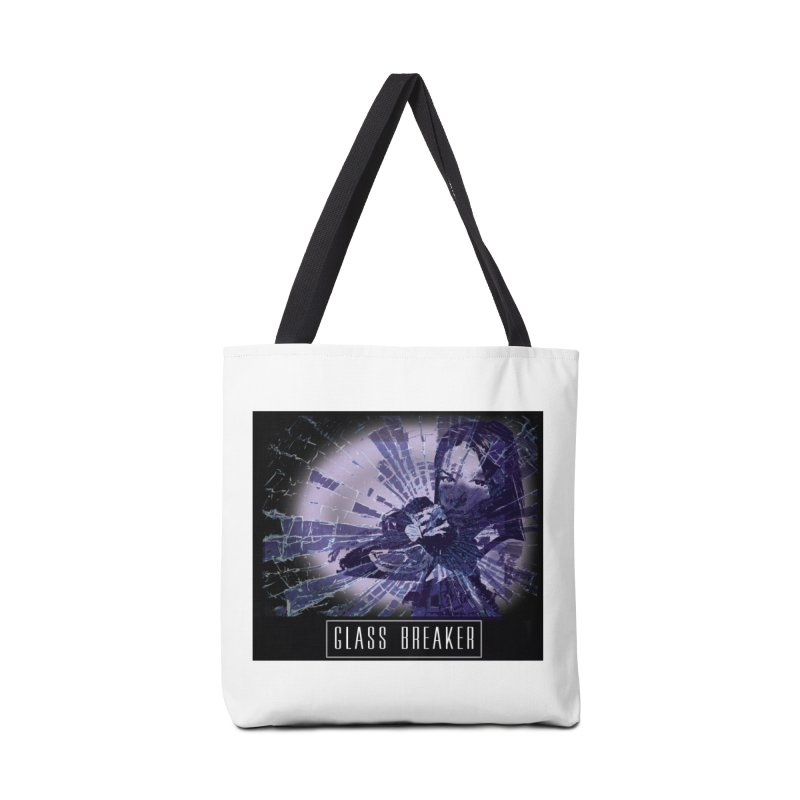 Woman breaking barriers in Tote Bag by Make a statement, laugh, enjoy.