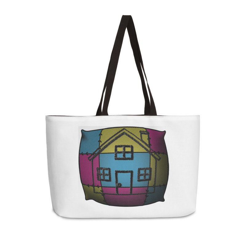 Comfy House in Weekender Bag by Make a statement, laugh, enjoy.