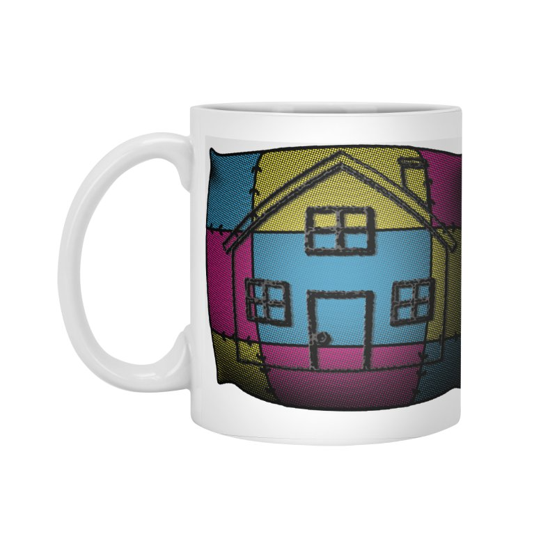 Comfy House in Standard Mug White by Make a statement, laugh, enjoy.